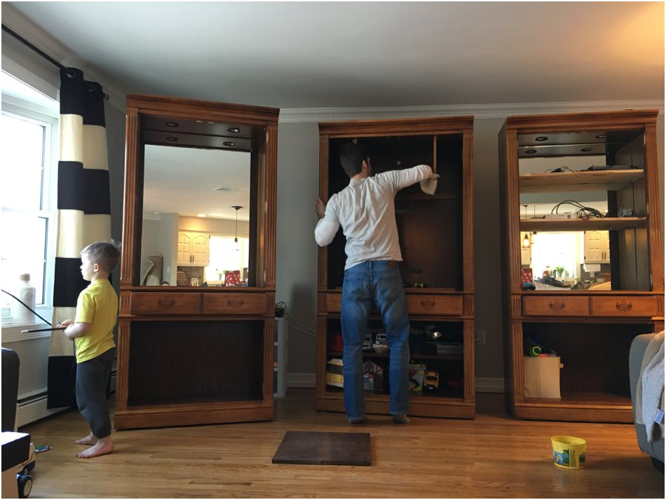 New Jersey Home Renovations Fixer Upper IKEA Hacking DIY Projects_4957