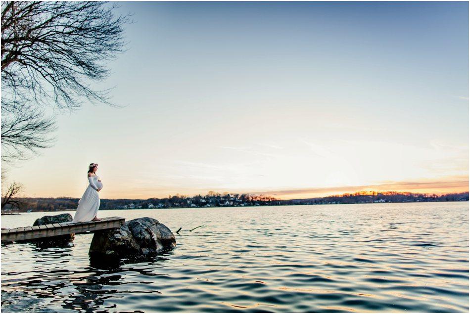 New Jersey Maternity Photographer Lake Muscanetcong_5011