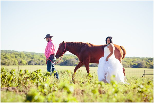 Country Themed Horse Shotgun Bride and Groom After Session by POPography.org_593