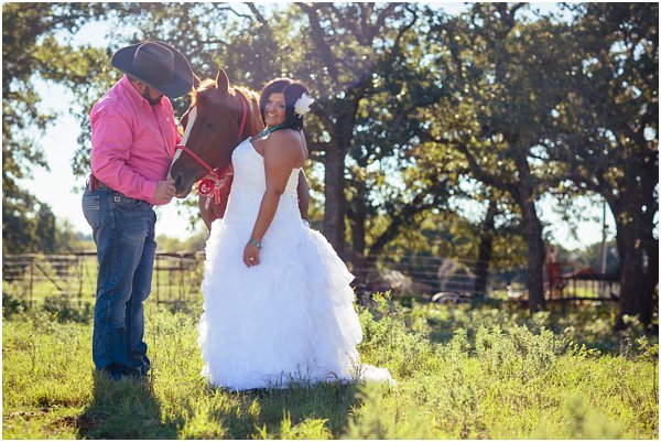 Country Themed Horse Shotgun Bride and Groom After Session by POPography.org_595