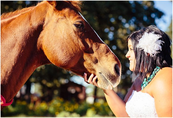 Country Themed Horse Shotgun Bride and Groom After Session by POPography.org_596