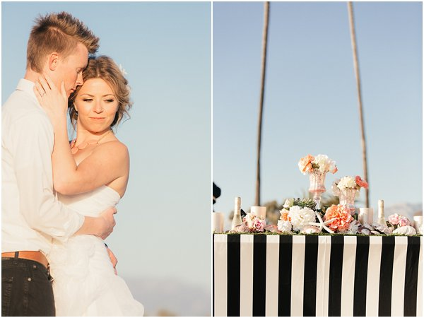 Seashells and stripes styled wedding on beach California by POPography.org_384