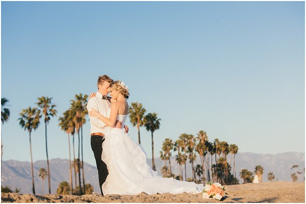 Seashells and stripes styled wedding on beach California by POPography.org_388