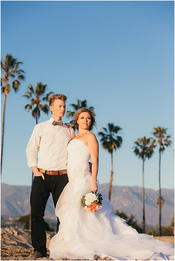 Seashells and stripes styled wedding on beach California by POPography.org_389
