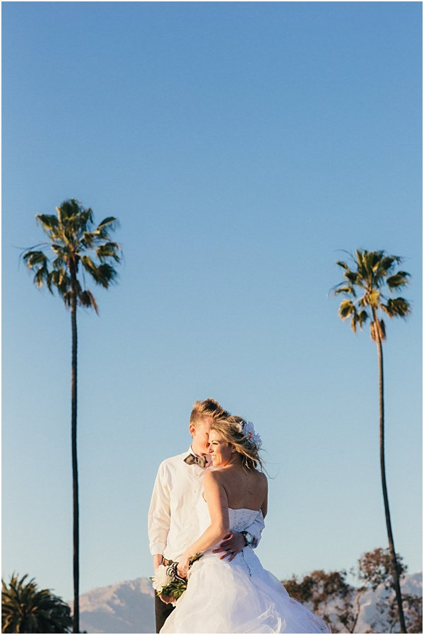 Seashells and stripes styled wedding on beach California by POPography.org_391