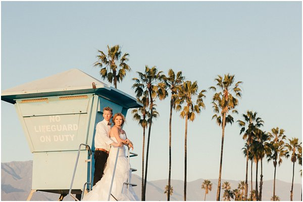 Seashells and stripes styled wedding on beach California by POPography.org_392