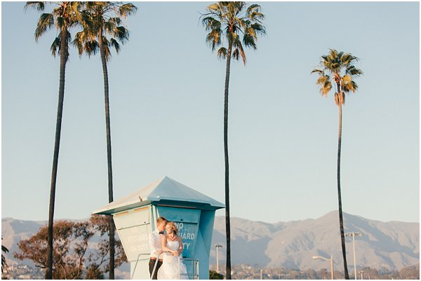 Seashells and stripes styled wedding on beach California by POPography.org_393