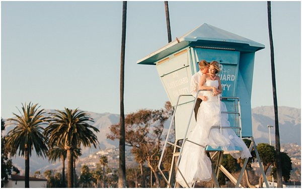 Seashells and stripes styled wedding on beach California by POPography.org_394