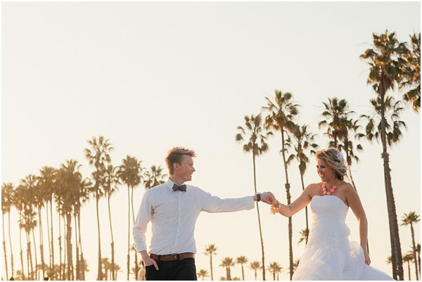 Seashells and stripes styled wedding on beach California by POPography.org_400
