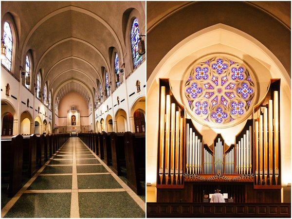 Megan + Jason :: St  Thomas Aquinas Catholic Church :: DFW
