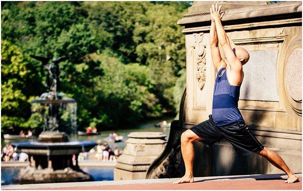 New York City Photographer Yoga Photo Shoot Street Photography by POPography_811