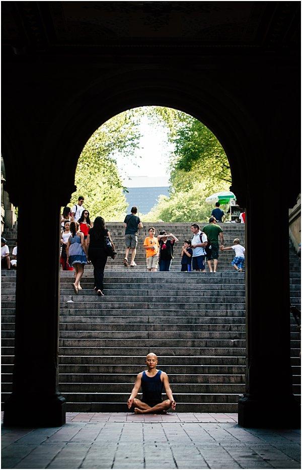 New York City Photographer Yoga Photo Shoot Street Photography by POPography_813