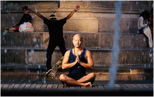 New York City Photographer Yoga Photo Shoot Street Photography by POPography_832