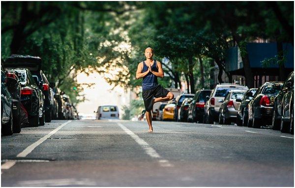 New York City Photographer Yoga Photo Shoot Street Photography by POPography_836